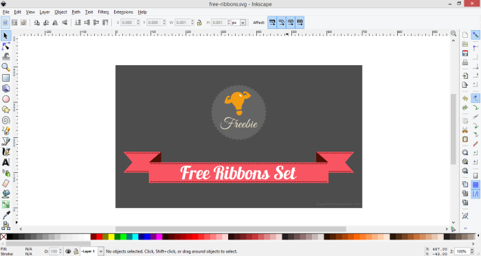 free-ribbons-inkscape