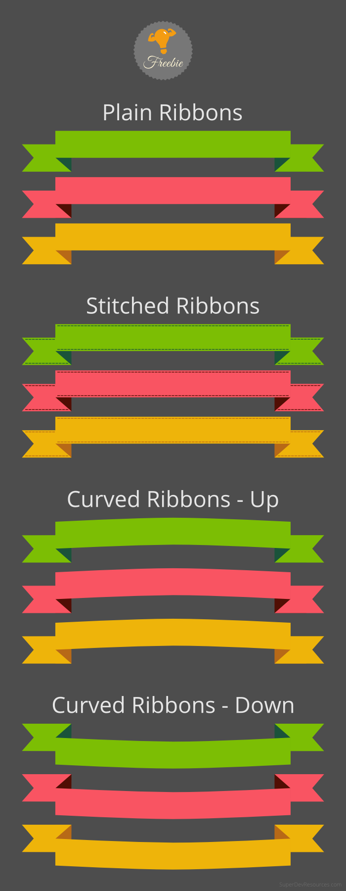 Free Ribbons Set