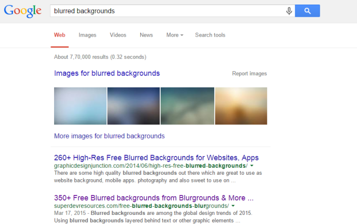 search-results-blurred-backgrounds